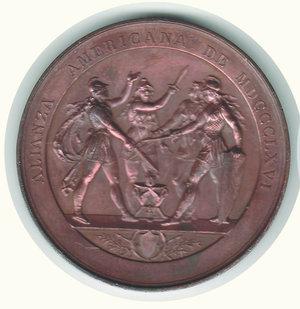 obverse: ALIANZA AMERICANA 1866