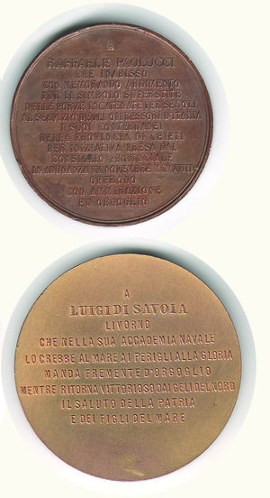 reverse: PAOLUCCI R. 2 medaglie