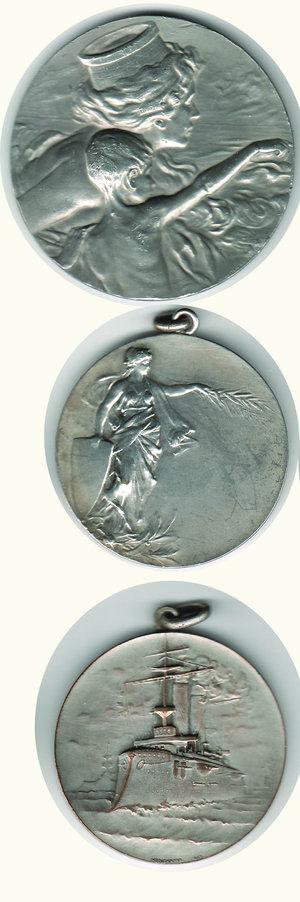 obverse: STELLA POLARE 3 medaglie