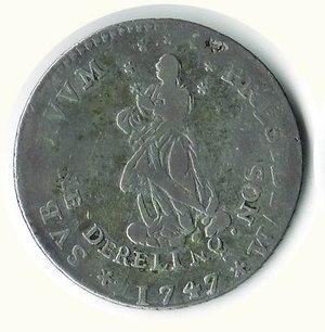 obverse: GENOVA - 2 Lire 1747