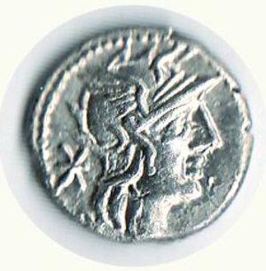 obverse: ROMA - Repubblica - Caecilus Metellus Diadematus