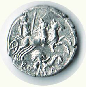 reverse: ROMA - Repubblica - Caecilus Metellus Diadematus