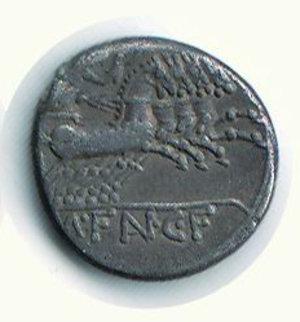 reverse: ROMA - Repubblica - M. Fannius. C. - Denario