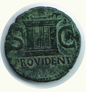 reverse: ROMA - Augusto - Asse