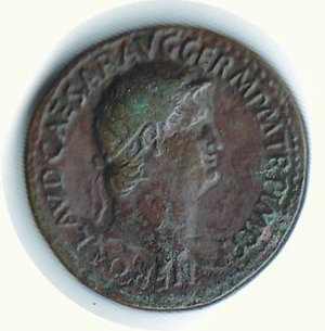 obverse: ROMA - Nerone (54-68) - Dupondio