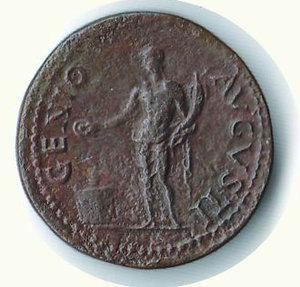 reverse: ROMA - Nerone (54-68) - Dupondio