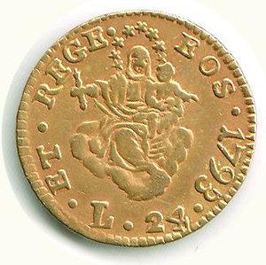 obverse: GENOVA - Dogi Biennali III fase - 24 Lire 1793