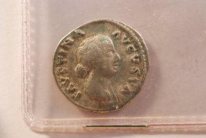 obverse: FAUSTINA II - Moglie di M. Aurelio - Denario