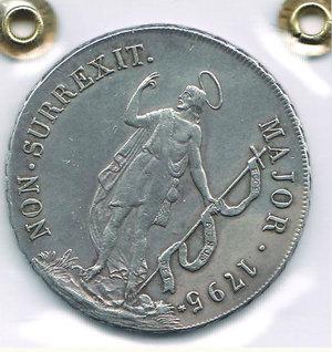 obverse: GENOVA - Dogi Biennali - 8 Lire 1795