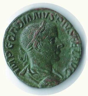 obverse: ROMA - Gordiano III - Sesterzio
