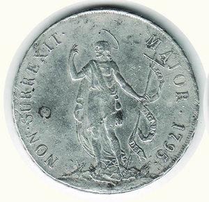 obverse: GENOVA - Dogi Biennali - 8 Lire San Giovanni 1795