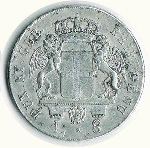 reverse: GENOVA - Dogi Biennali - 8 Lire San Giovanni 1795