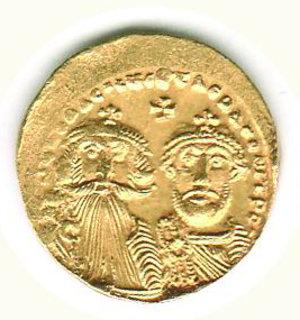 obverse: GRECIA - Costantinopoli - Eraclio ed Eraclio Costantino (613-638) - Solido