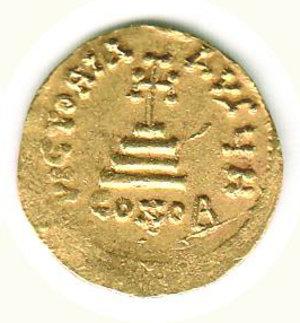 reverse: GRECIA - Costantinopoli - Eraclio ed Eraclio Costantino (613-638) - Solido