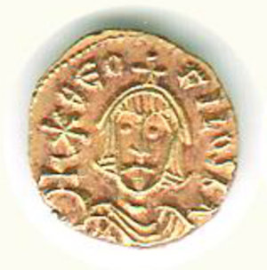 obverse: GRECIA - Impero Bizantino - Teofilo (829-842) - Tremisse
