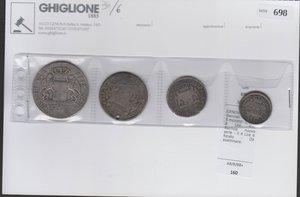 obverse: GENOVA - Dogi Biennali - Lotto di 4 monete