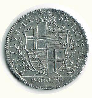 reverse: Bologna - Governo popolare 1796 - Scudo da 10 Paoli