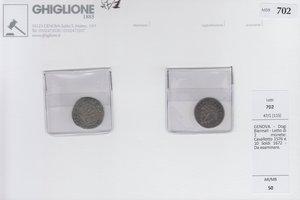 obverse: GENOVA - Dogi Biennali - Lotto di 2 monete