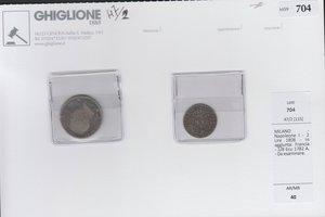 obverse: MILANO - Napoleone I - 2 Lire 1808