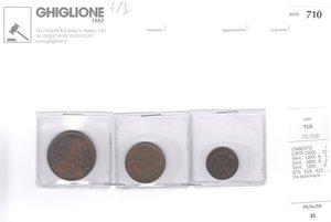obverse: UMBERTO I - 3 monete