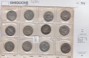 obverse: 12 monete da 1 Lira