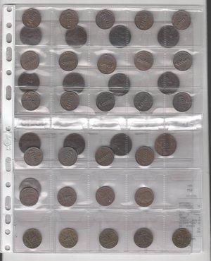 obverse: VITTORIO EMANUELE III - 41 monete