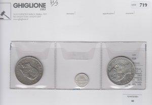 obverse: REGNO D ITALIA Vittorio Em.II - 3 monete