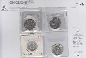 obverse: LOTTO di 4 monete