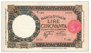 REGNO D ITALIA 50 lire