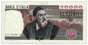 REPUBBLICA - 20.000 Lire Tiziano