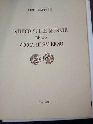 obverse: CAPPELLI R. Studio sulle monete della zecca di Salerno