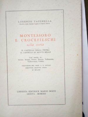 obverse: TACCHELLA L.- Montessoro e Crocefieschi nella storia