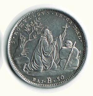 reverse: Bologna - Gregorio XVI - 50 Baiocchi 1832