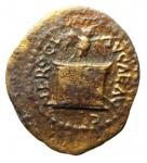 obverse: Impero Romano. Nerone. 54-68 d.C. Quadrante. Ae.Roma. 64 d.C. RIC 260. Peso gr. 1,45. MB\qBB. ex Tintinna 68 lotto 166 aggiudicato ma non pagato.
