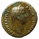 obverse: Impero Romano . Adriano. 117-138 d.C. Asse. Ae. 134-138 d.C. R/ HISPANIA. Ric II 852 var. Peso gr. 9,21. Diametro mm. 25,5. qBB. ex Tintinna 73 lotto 219 aggiudicata ma non pagata.R.