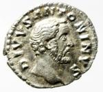 obverse: Impero Romano. Antonino Pio. 138-161 d.C. Denario. Ag. D\ DIVVS ANTONINVS testa laureata verso destra. R\ CONSECRATIO Pira funebre. RIC.438. Peso 3,40 gr. Diametro 19,00 mm. BB+.