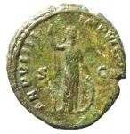 reverse: Impero Romano. Commodo. 177-192 d.C. Asse. Ae. D/ M COMMODVS ANTON AVG PIVS Testa laureata a destra. R/ TR P VIIII IMP VI COS Minerva stante a sinistra. RIC 425. Peso gr. 9,80. BB+. Patina verde. NC.