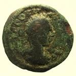 obverse: Provincia Romana. Bronzo Coloniale da Classificare : D\ Testa verso destra R\ Incuso. Peso 7,90 gr. Diametro 22,03 mm. qBB.
