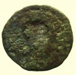 reverse: Provincia Romana. Bronzo Coloniale da Classificare : D\ Testa verso destra R\ Incuso. Peso 7,90 gr. Diametro 22,03 mm. qBB.