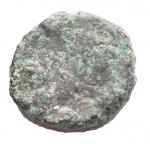 obverse: Bizantini - Anastasio. 491-518 d.C. Nummo. Ae. D/ Busto diademato a destra. R/ Monogramma. Peso gr. 1,45. qBB.
