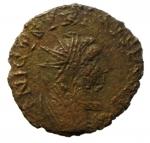 obverse: Barbari. Imitativa degli imperatori romano gallici. Peso 1,65 gr. BB.