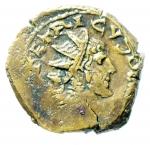 obverse: Barbari. Imitativa degli imperatori romano gallici Tetrico. Peso 5,45 gr.BB+. Moneta di peso eccedente e di ottimo stile per la tipologia.