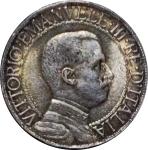 obverse: Casa Savoia. Vittorio Emanuele III. 1 Lira 1912. Ag. FDC. Delicata patina su fondi lucenti. rf