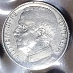 obverse: Casa Savoia. Vittorio Emanuele III. 50 Centesimi Leoni C/ Rigato 1919. SPL+. Periziata L.Esposito. rf