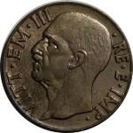 obverse: Casa Savoia. Vittorio Emanuele III. 10 Centesimi 1941. FDC. rf