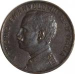 obverse: Casa Savoia. Vittorio Emanuele III. 5 Centesimi 1909. qFDC/FDC. NC.rf