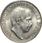 obverse: Casa Savoia. Colonia Eritrea. 1 Rupia 1919. Ag. FDC. Fondi lucenti. Periziata.R.Rf10