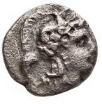 obverse: Varie - Diobolo da catalogare. Ag. Peso gr. 0,98. Diametro mm. 12,18.