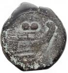 reverse: Varie - Repubblica Romana. Asse serie Berretti dei Dioscuri