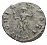 reverse: Varie - Claudio II. Antoniniano. Diametro mm. 20,5. Peso gr. 2,73. Patina verde.